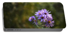 New England Asters Portable Battery Charger