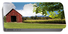 New Hampshire Barnyard Portable Battery Charger by Fred Larson