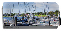 New Hampshire Marina Portable Battery Charger by Fred Larson