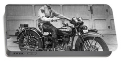 New Jersey Motorcycle Trooper Portable Battery Charger