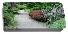 Portable Battery Charger featuring the photograph Frelinghuysen Arboretum Path by Richard Bryce and Family