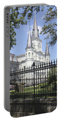 St Louis Cathedral In New Orleans 19 Portable Battery Charger