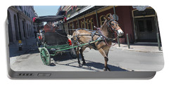 Carriage Ride In New Orleans 21 Portable Battery Charger