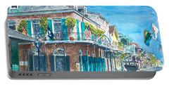 New Orleans Bourbon Street Portable Battery Charger