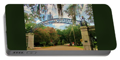 New Orleans City Park - Pizzati Gate Entrance Portable Battery Charger