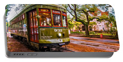 New Orleans Classique Oil Portable Battery Charger by Steve Harrington