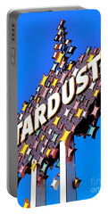 Original Stardust Casino Neon In Las Vegas Pop Art Portable Battery Charger