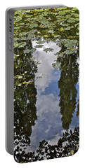 Reflections Amongst The Lily Pads Portable Battery Charger