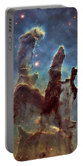 New Pillars Of Creation Hd Tall Portable Battery Charger by Adam Romanowicz