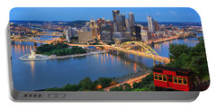 Pittsburgh Summer  Portable Battery Charger