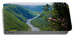 New River View Portable Battery Charger