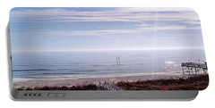 New Year Carolina Beach Portable Battery Charger