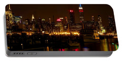 Portable Battery Charger featuring the photograph New York City by Dave Files