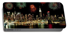 New York City Fourth Of July Portable Battery Charger