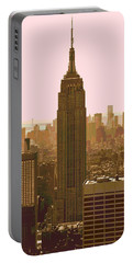 New York City Poster Portable Battery Charger