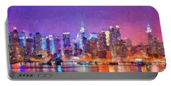 New York City - Skyline 0 Portable Battery Charger