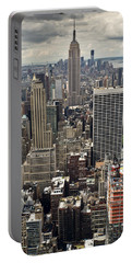 New York Midtown Skyscrapers Portable Battery Charger