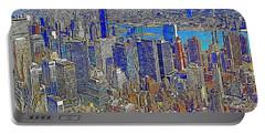 New York Skyline 20130430v3 Portable Battery Charger