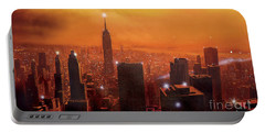 New York Sunset Portable Battery Charger