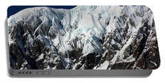 New Zealand Mountains Portable Battery Charger by Amanda Stadther