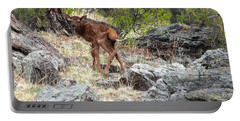 Newborn Elk Calf Portable Battery Charger