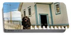 Newfoundland Dog In Newfoundland Portable Battery Charger