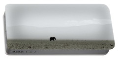 Ngorongoro Crater Portable Battery Charger by Shaun Higson