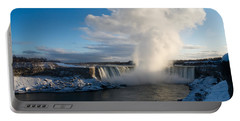 Niagara Falls Makes Its Own Weather Portable Battery Charger