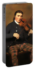 Niel Gow - Violinist And Composer Portable Battery Charger