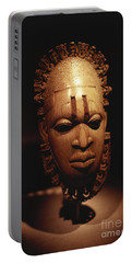 Nigerian Ivory Mask Portable Battery Charger