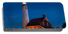 Night At The Lighthouse Portable Battery Charger