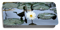 #night Blooming Water Lily Portable Battery Charger