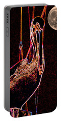 Portable Battery Charger featuring the photograph Night Light by Robert McCubbin
