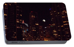 Portable Battery Charger featuring the photograph Night Passage - San Diego by Glenn McCarthy