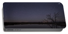Night Sky Reflection Portable Battery Charger