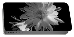 Nightblooming Cereus Cactus Flower Portable Battery Charger