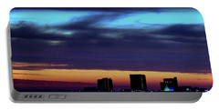 Portable Battery Charger featuring the photograph Nightfall Over Pensacola Beach by Faith Williams