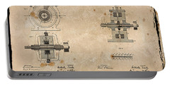 Nikola Tesla's Alternating Current Generator Patent 1891 Portable Battery Charger