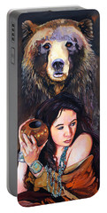 Nine Stars Woman - Bear Medicine Portable Battery Charger