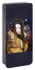 Nine Stars Woman / Owl Medicine Portable Battery Charger