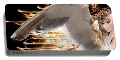 Nissrine An Angels Radiance Portable Battery Charger