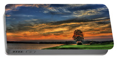 No Better Day Golf Landscape Art Portable Battery Charger