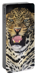 No Solicitors African Leopard Endangered Species Wildlife Rescue Portable Battery Charger