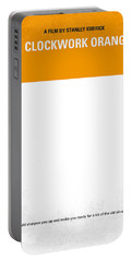 No002 My A Clockwork Orange Minimal Movie Poster Portable Battery Charger