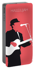 No042 My Leonard Cohen Minimal Music Portable Battery Charger