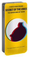No096 My Tintin-3d Minimal Movie Poster Portable Battery Charger