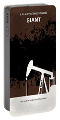 No102 My Giant Minimal Movie Poster Portable Battery Charger by Chungkong Art