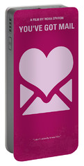 No107 My Youve Got Mail Movie Poster Portable Battery Charger