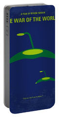 No118 My War Of The Worlds Minimal Movie Poster Portable Battery Charger