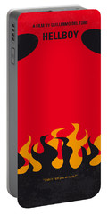 No131 My Hellboy Minimal Movie Poster Portable Battery Charger